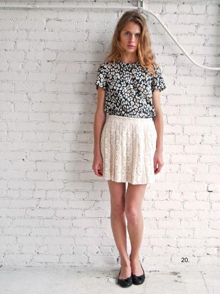 Sea NY lace skirt