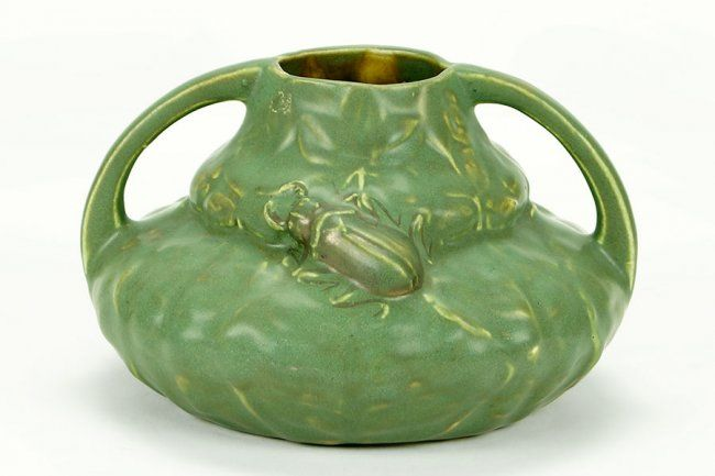 An Austrian Ceramic Double Handled Vase. : Lot 1602084