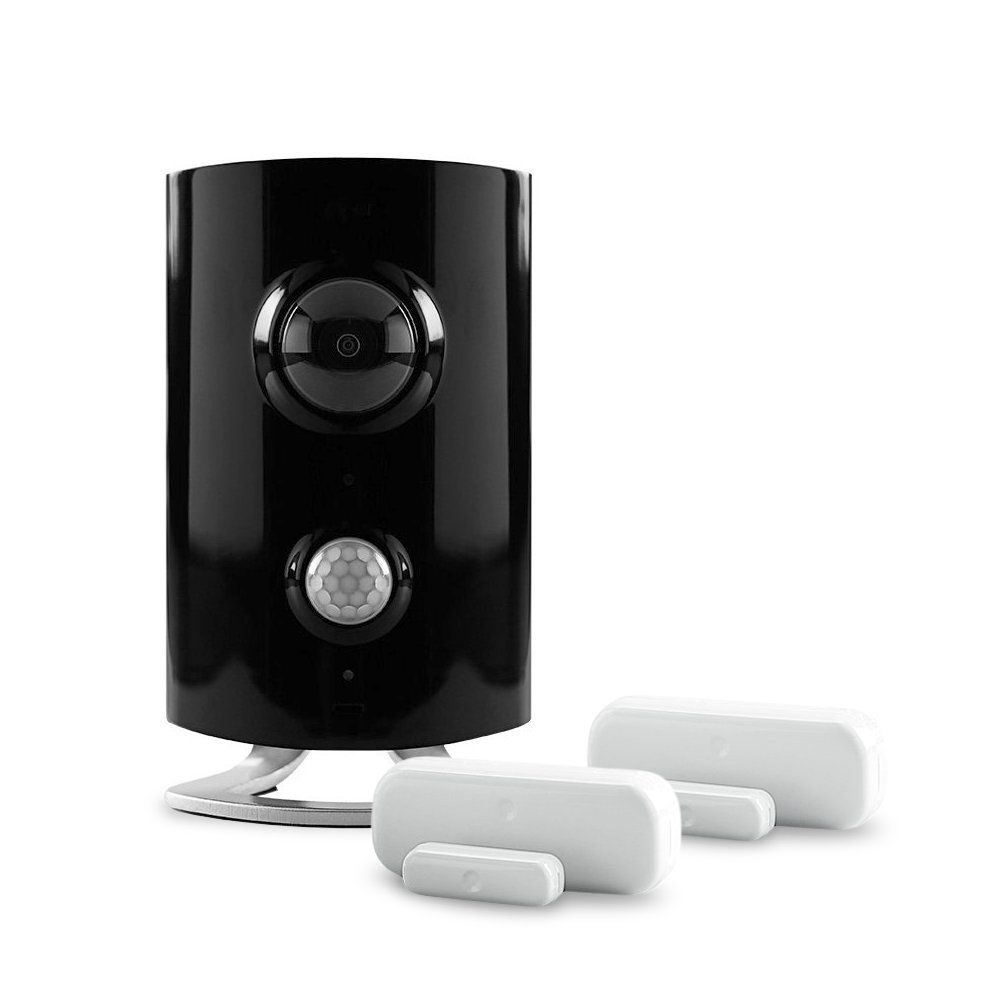 Piper Classic All In One Home Security Bundle With Video Monitoring Camera  And Two