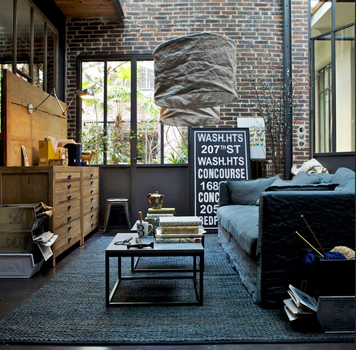 Nice Clean Industrial Living Room Design Living Room Design