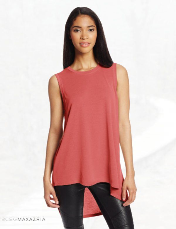 BCBGMAXAZRIA Women's Karyn Sleeveless T-Shirt
