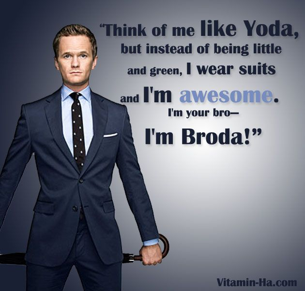 Top Ten Barney Stinson Quotes, So SUIT UP!