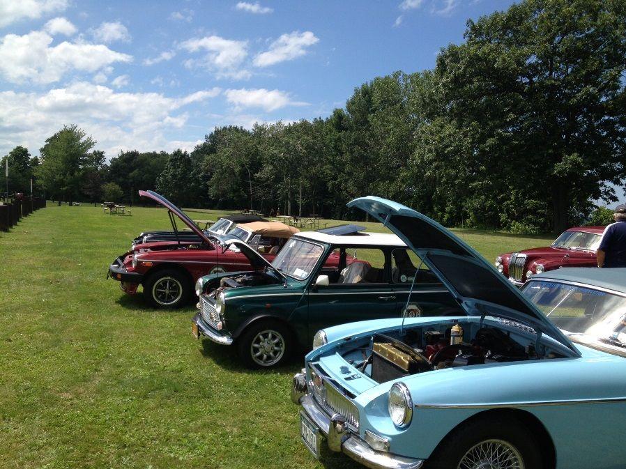 WNY MG (A British Sports Car) Car Club on July 28, 2013
