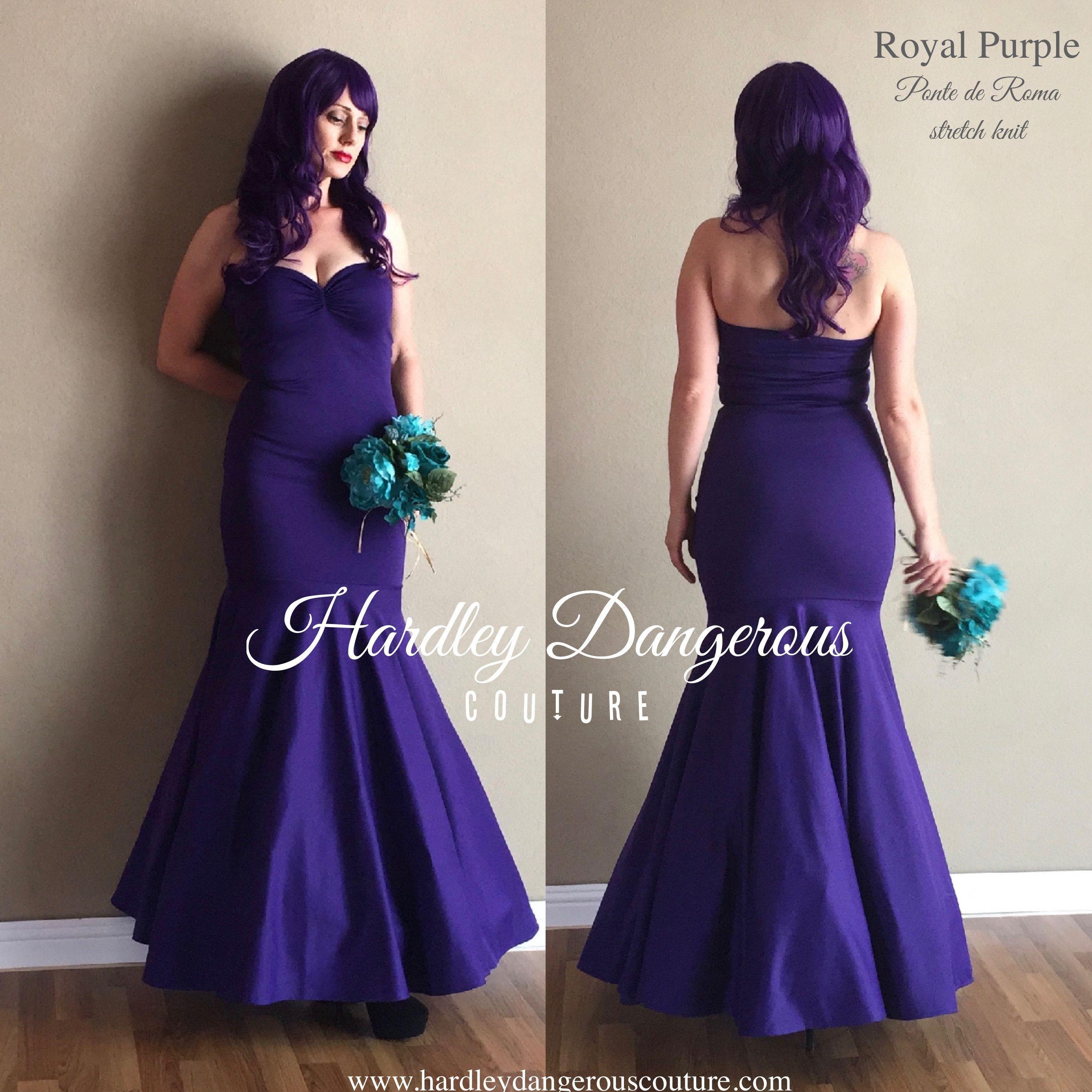 1950s inspired royal purple cherrybomb mermaid dress vintage vintage bridesmaid dresses 1950s inspired royal purple cherrybomb mermaid dress ombrellifo Images