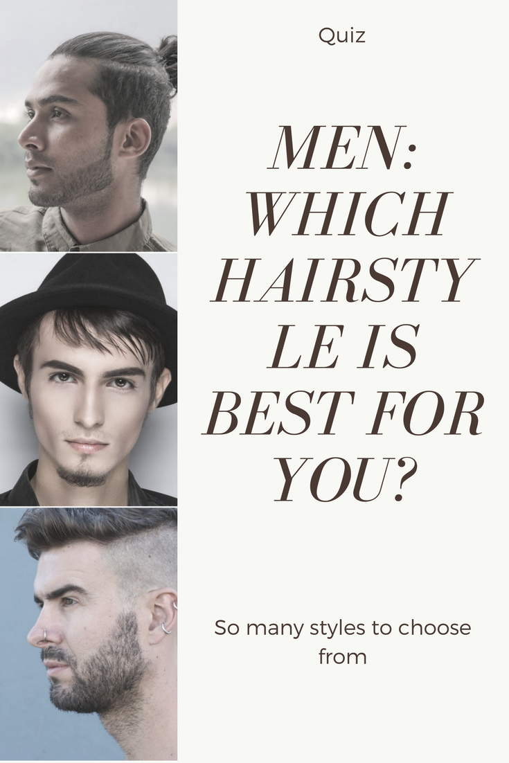 Men Which Hairstyle Is Best For You Man Cave Pinterest Beard