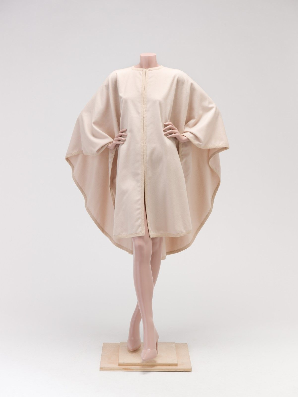 1985, France - Wool cape by Yves Saint Laurent