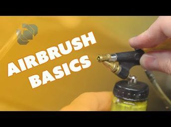 how to airbrush for the complete beginner  youtube  air