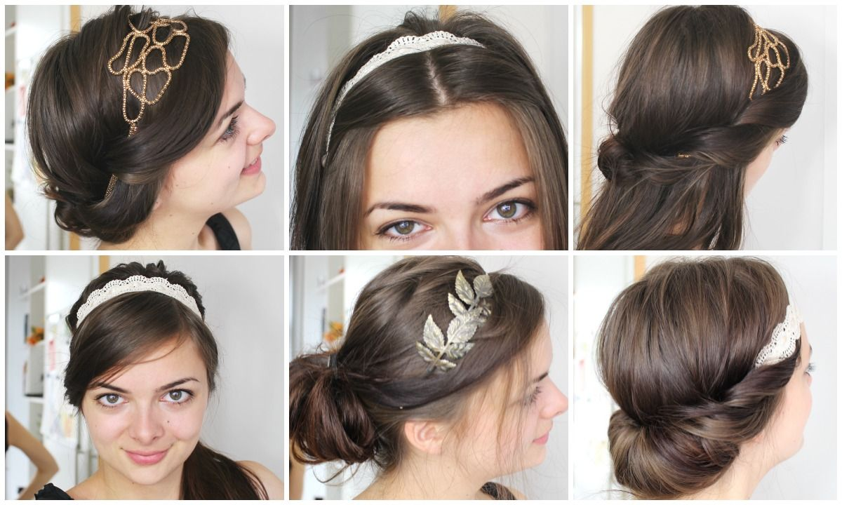 5 Hairstyles For Short Hair Erin Rose: I Love Headbands. They Are Seriously Underrated