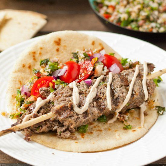 Consider this Beef Kafta the Middle Eastern version of meatloaf. Warmly spiced and easy to make, this is sure to be a new favorite.