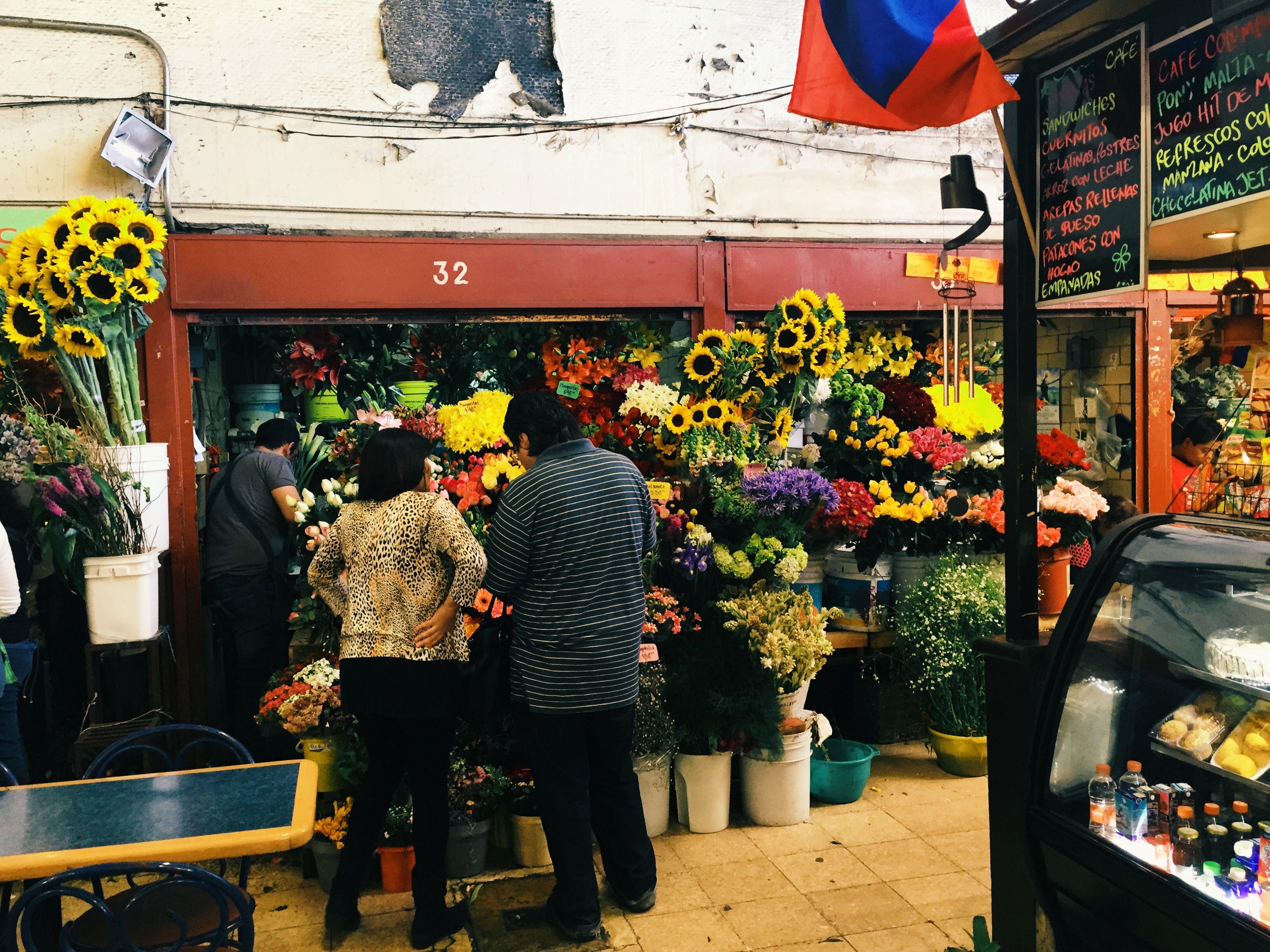 México DF - Mercado de las flores