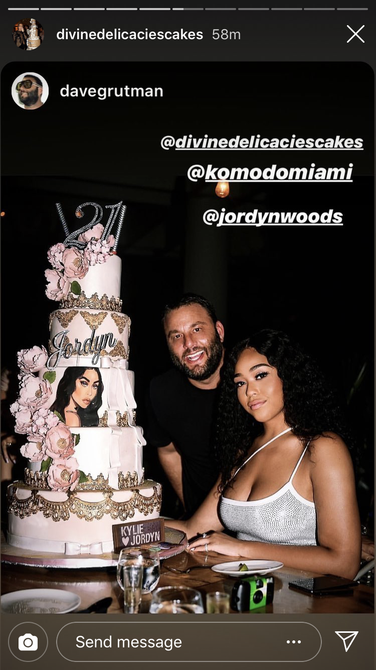 Kylie Jenner And Jordyn Woods Had An Extremely Over The Top 21st Birthday Party In Miami