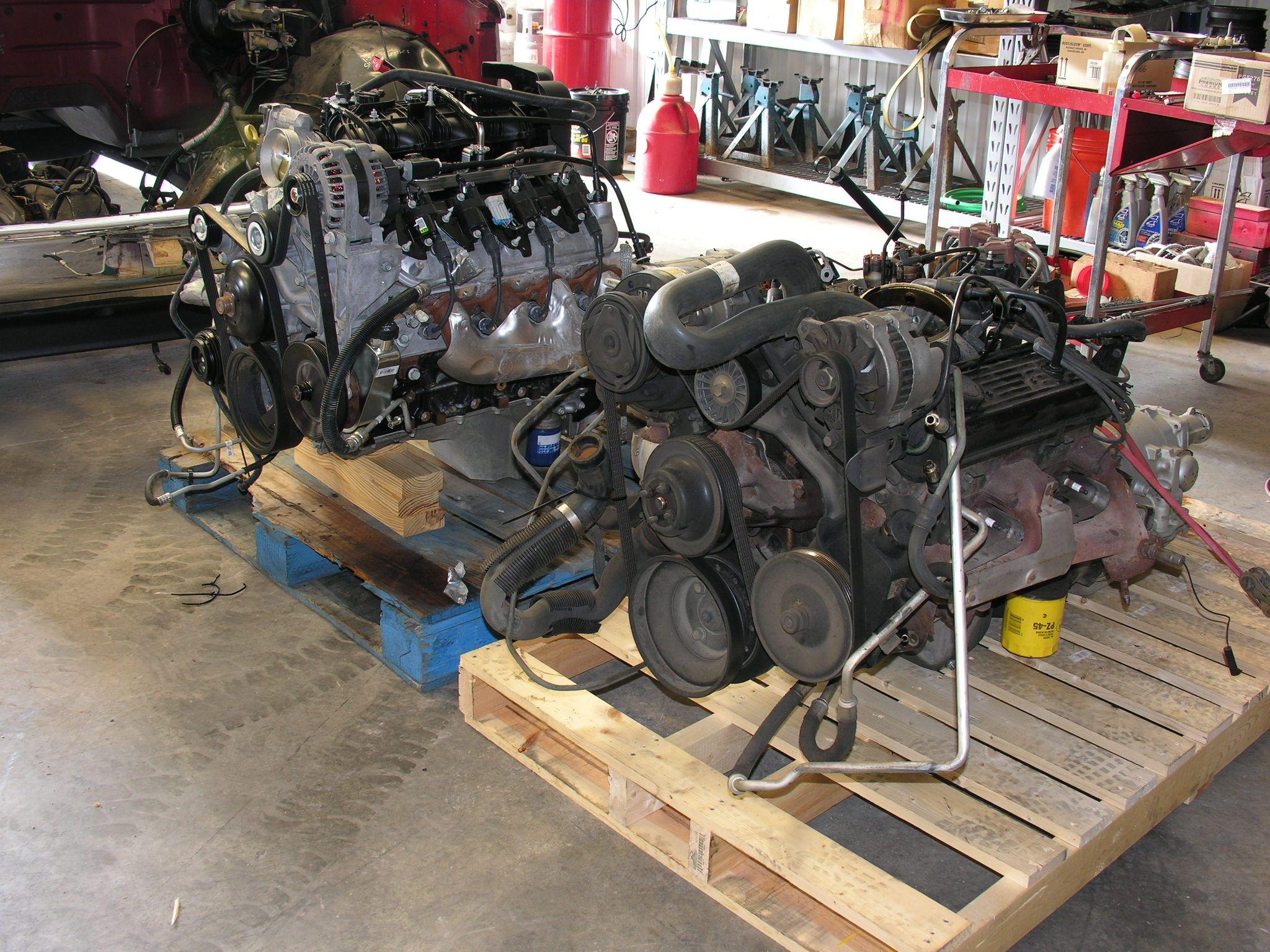 1989 Chevy Truck Conversion - 350 SBC to 5 3L Vortec Engine