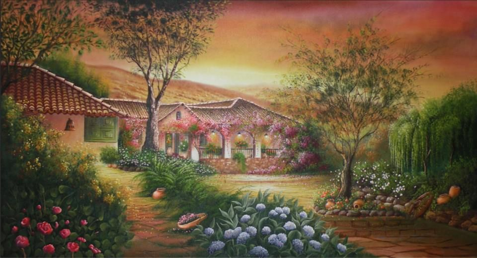 Jose Raul Rodriguez Galan Colombia Artistic Images Art Landscape