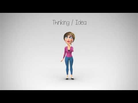 Anna Character Animation DIY Kit After Effects Template