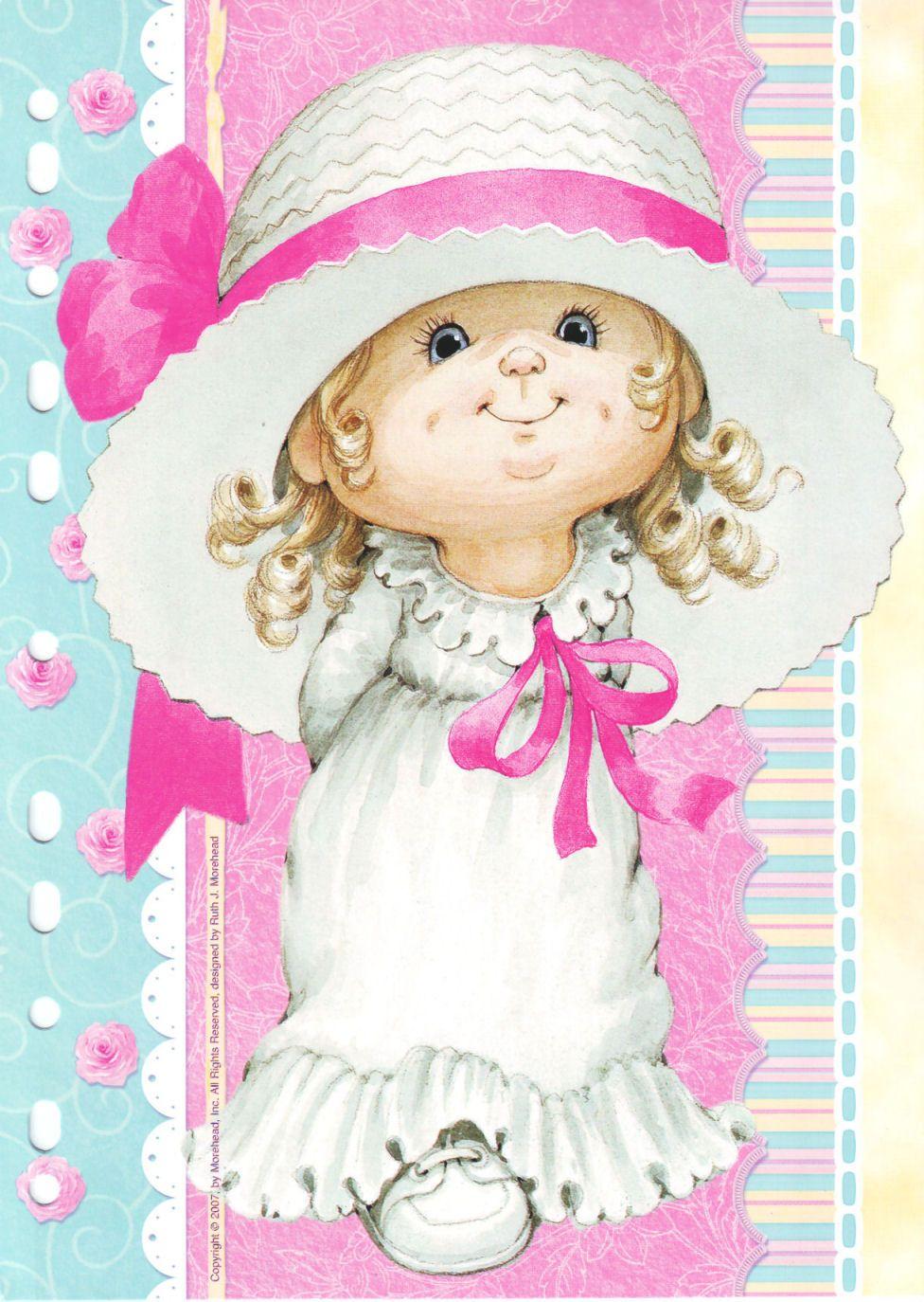 Прикольные картинки, открытка маленькой девочкой
