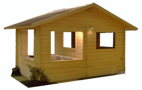 gazebo kiosque abris spas abri jardin en bois pinterest gazebo spas et refuges. Black Bedroom Furniture Sets. Home Design Ideas