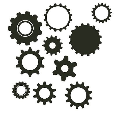 Lots of free SVG files  Gears | Crafts - Silhouette Ideas