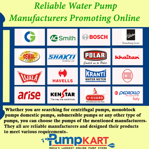 Nowadays Various Brands Of The Water Pumps Are Available In The Market And All Of Them Manufacturing Different Varieties Of Wa Water Pumps Pumps Manufacturing