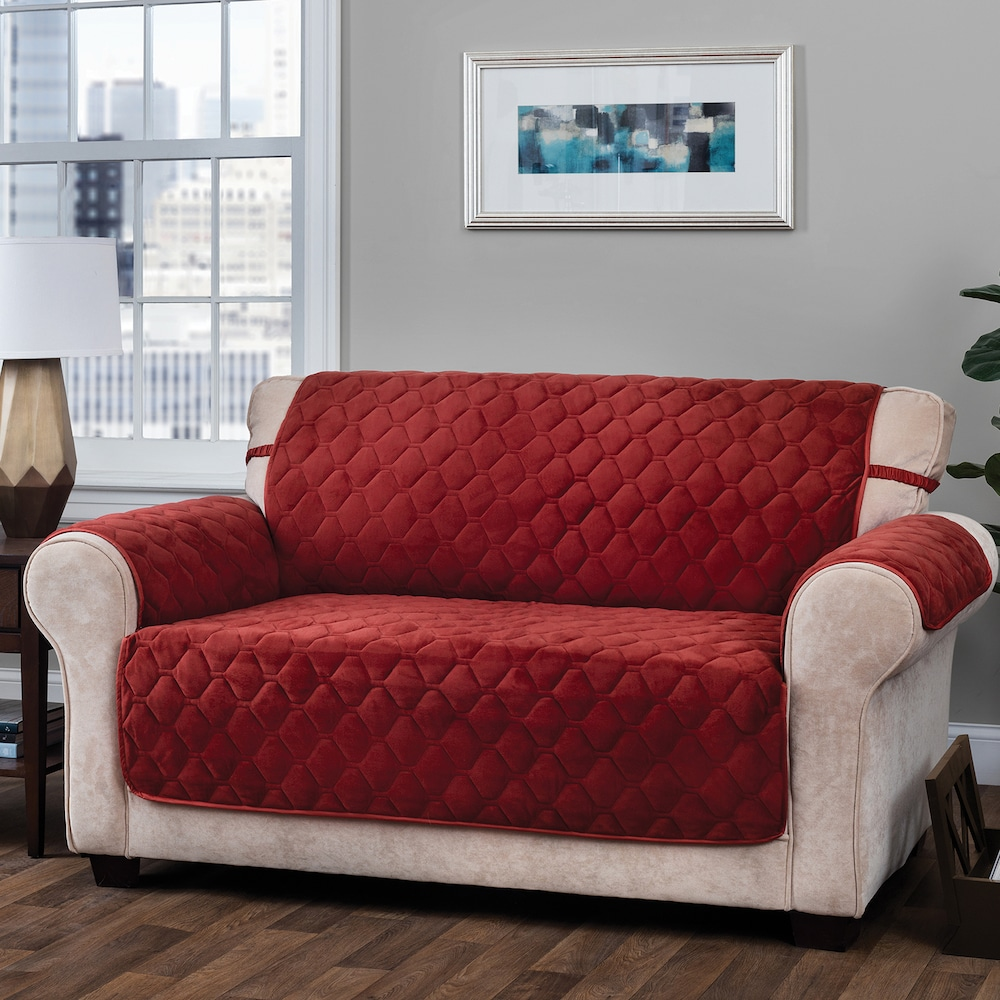 Admirable Jeffrey Home Solid Logan Micro Velvet Plush Loveseat Pabps2019 Chair Design Images Pabps2019Com