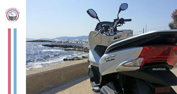 Honda PCX 125: la vuelta a Mallorca en un depósito | Motomallorca