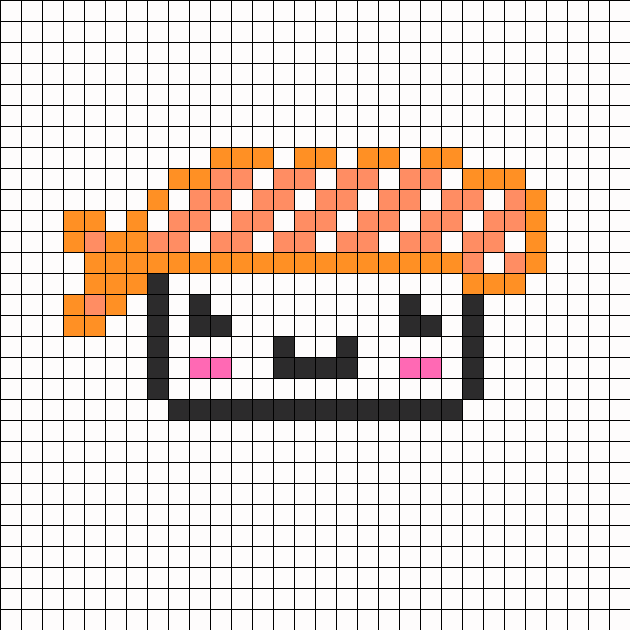 Cute Sushi perler bead pattern | Pixel art | Pinterest | Bordado ...