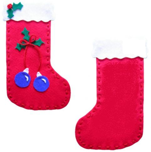 Christmas Stocking Kit For Children To Sew Themselves