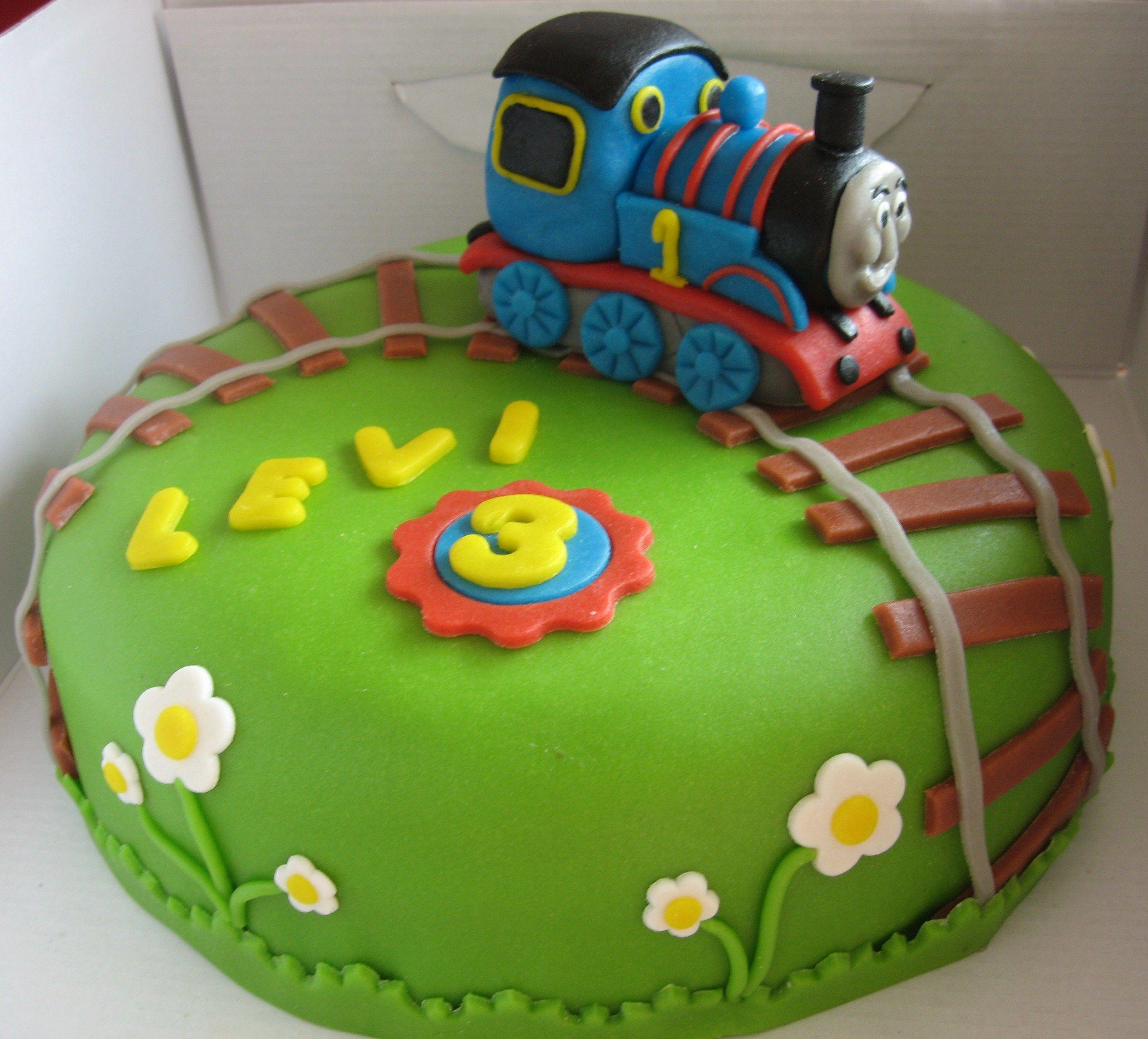 Iets Nieuws Thomas de trein taart! | Creatief | Trein taarten, Taart y Taart maken &ZB73