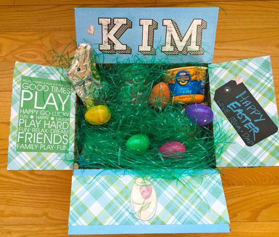Easter care package for college students by boxymama on etsy easter care package for college students by boxymama on etsy negle Gallery