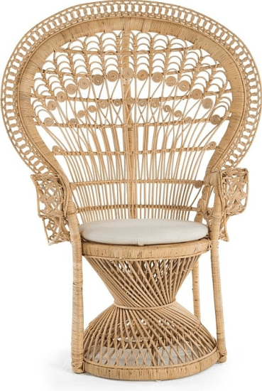 Carin Rattan Armchair In Natural Accent Chairs By Bayou Breeze Ideas For Armchairs In 2018 Furniture Decor C