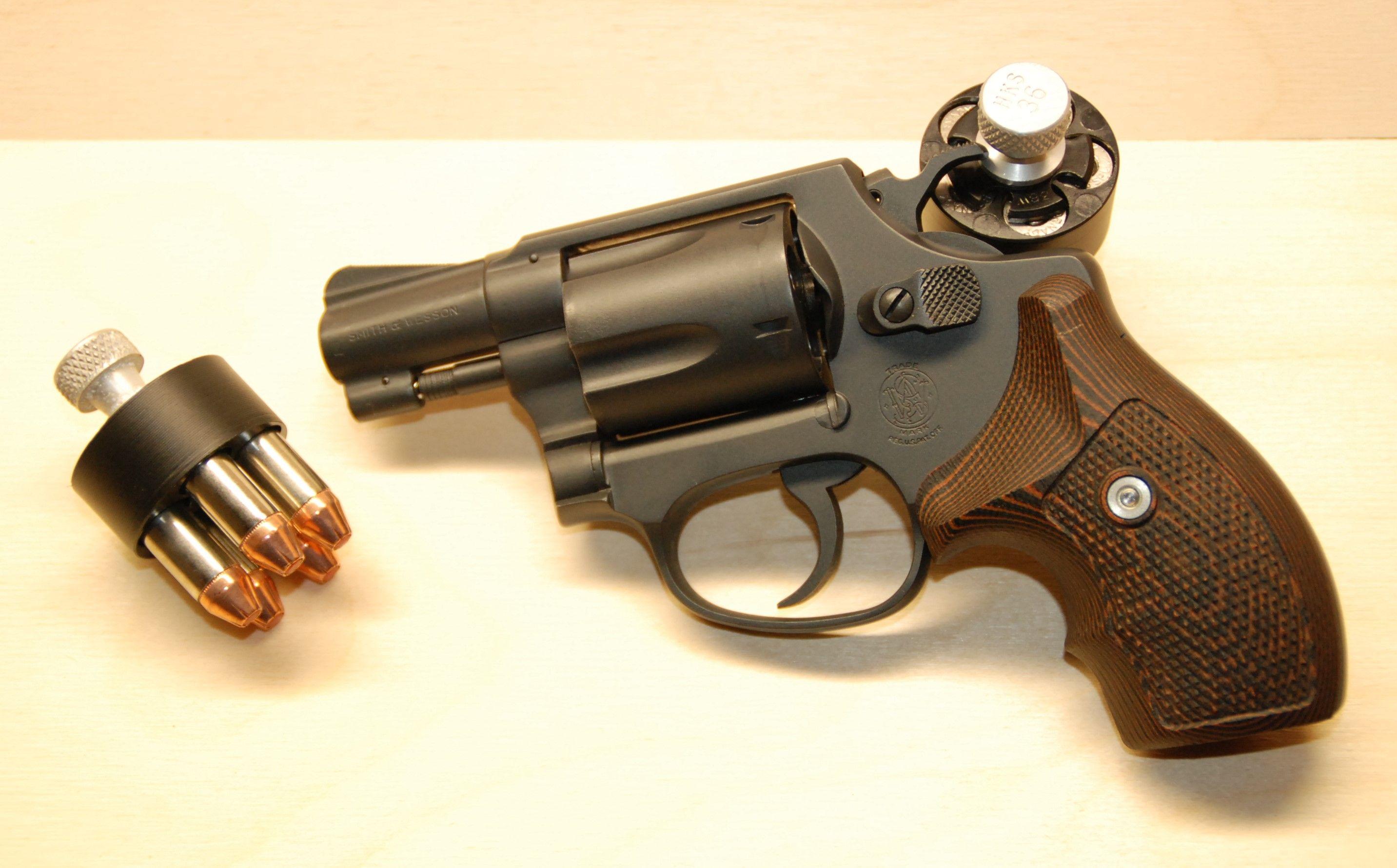 1964 #S&W Model 36 .38 Special. Sniper Gray #Cerakote, G10 grips ...