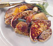 Recette Foie gras de canard poêle aux fruits secs recette Foie gras de canard poêle aux fruits secs