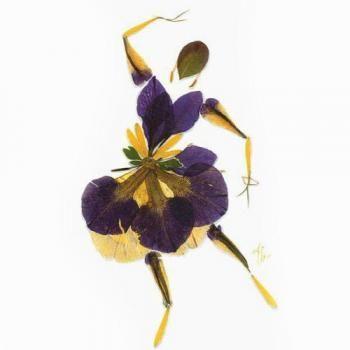 n 22 iris podestat creations others 39 pressed flower art pinterest fleurs s ch es. Black Bedroom Furniture Sets. Home Design Ideas