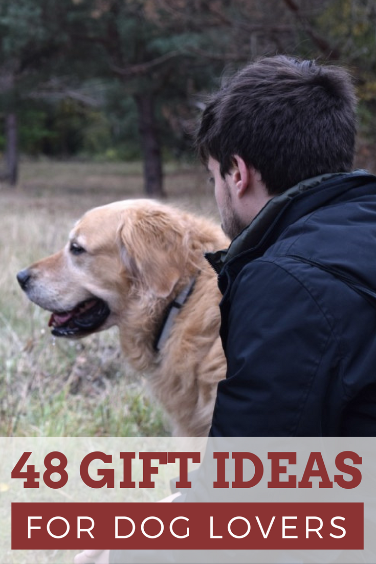 0fb15b680598 Looking for something special for the dog lover in your life? We have been  hard at work compiling dozens of our favorite #gifts for dog lovers to help  put ...