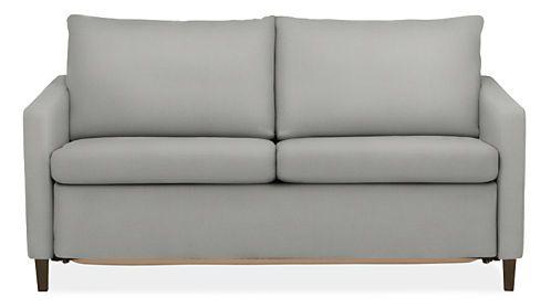 Allston Thin Arm Day U0026 Night Sleeper Sofas   Modern Sleeper Sofas   Modern  Living Room Furniture   Room U0026 Board