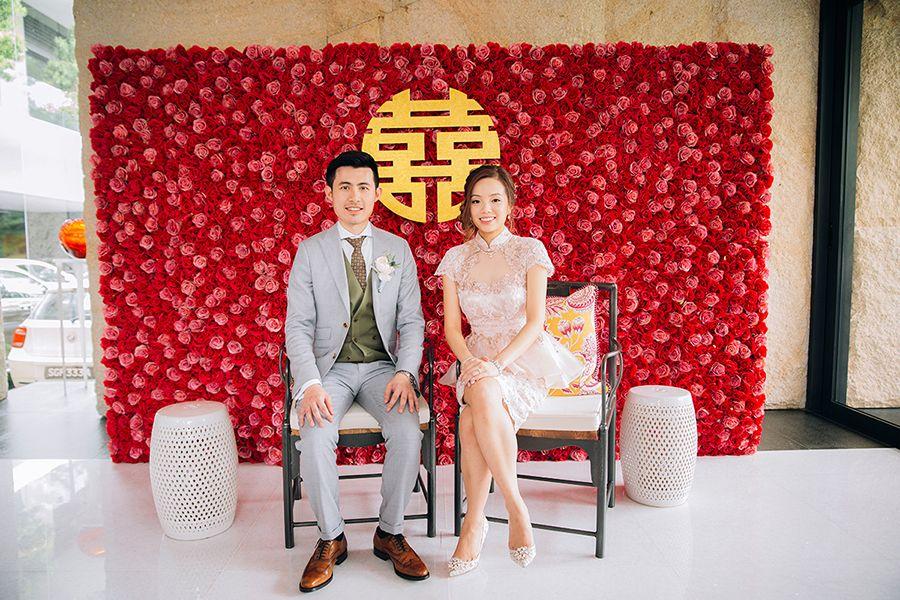 Jonathan And Jane S Cherry Blossom Filled Wedding At Shangri La Hotel Singapore Chinese Wedding Tea Ceremony Traditional Chinese Wedding Tea Ceremony Wedding