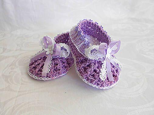..fialové balerínky :)