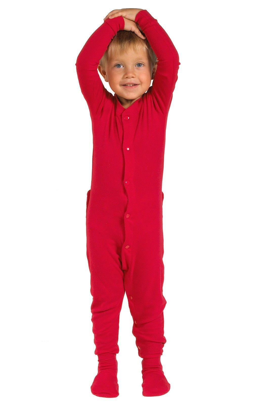 b205901cd403 Red Dropseat Matching Family Pajamas
