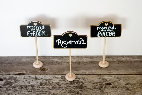 25 elegant wedding chalkboard table stands for place settings food