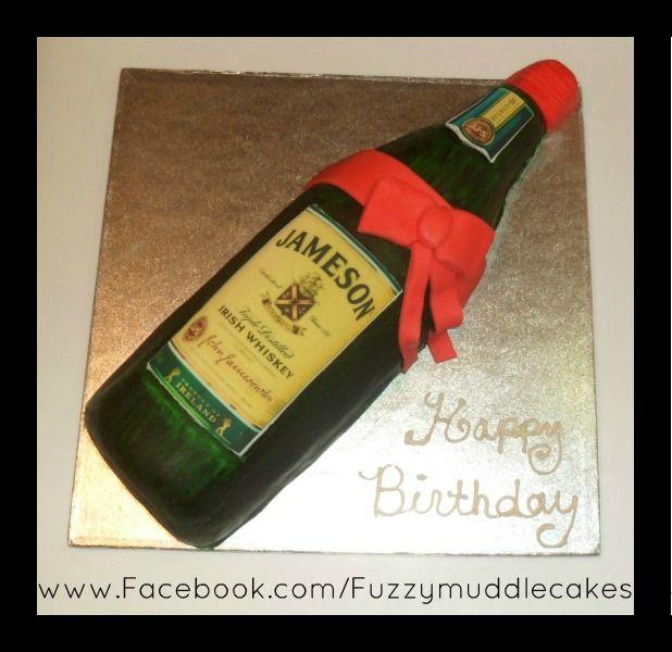 Happy Birthday Cake Jameson Whiskey