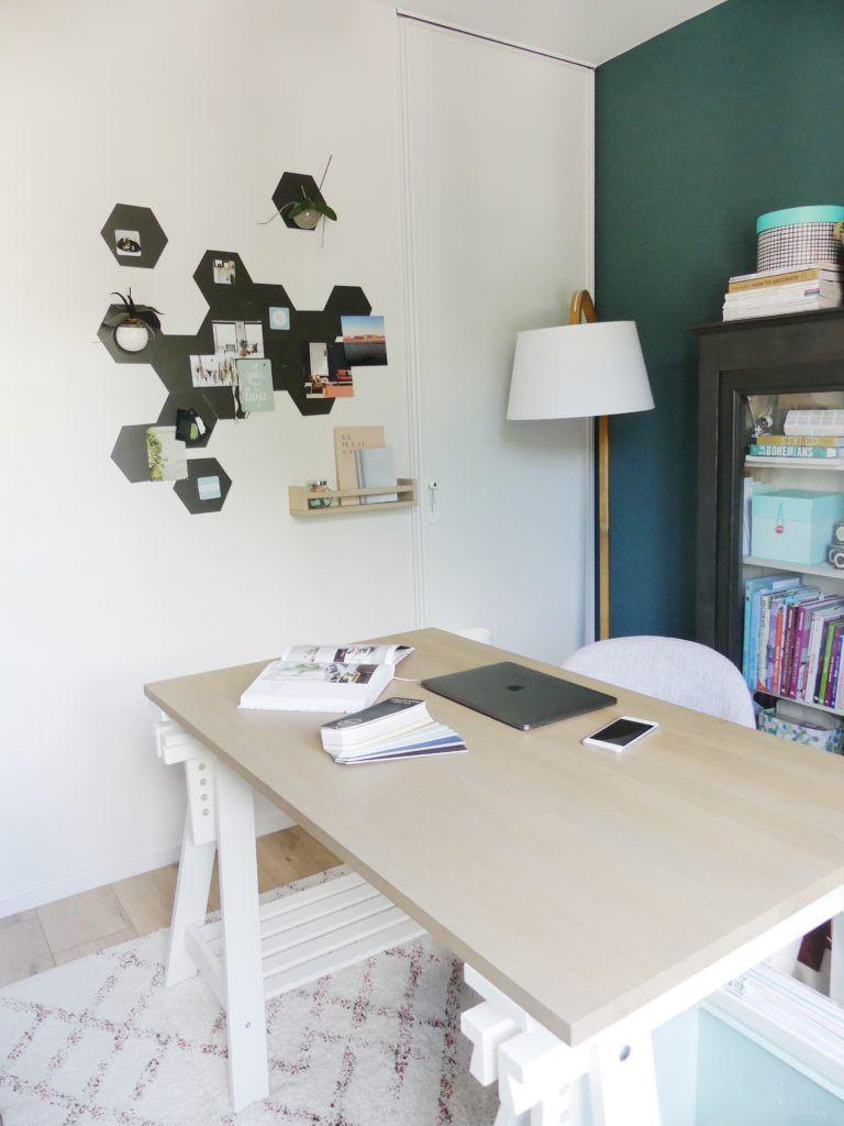 Home by marie tuto tableau magn tique pour un bureau une chambre d 39 enfant une cuisine avec - Tableau magnetique pour cuisine ...
