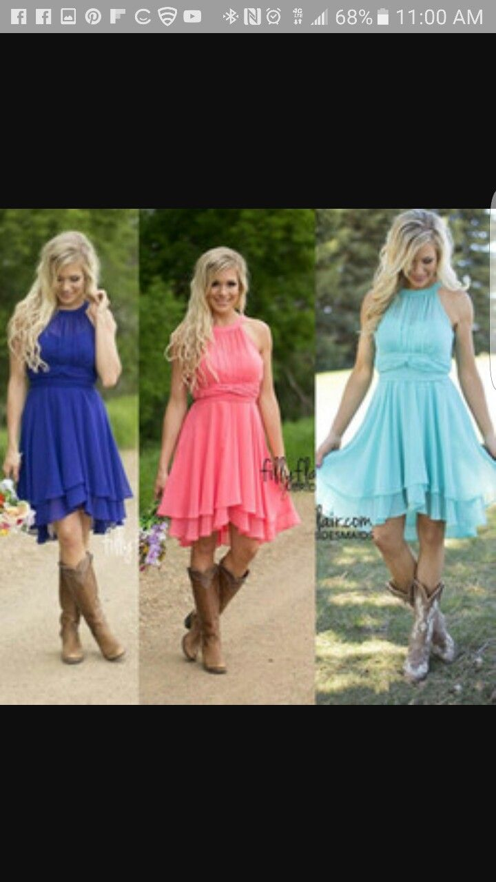 Dresses for wedding maids  Pin by The Eclectic West on MARRY ME  Pinterest  Wedding Weddings
