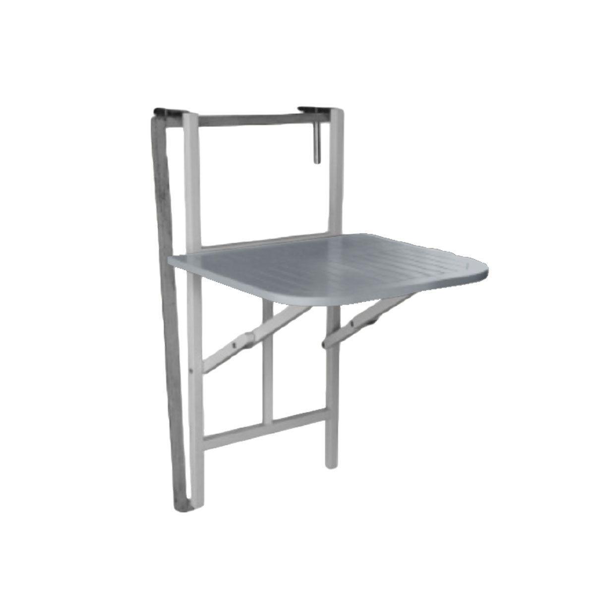 table console pliante à suspendre - gris | places, un and sons