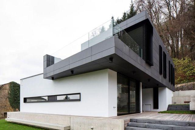 de Barsy \ Nikolov Architectes - Hostert  Construction du0027une maison