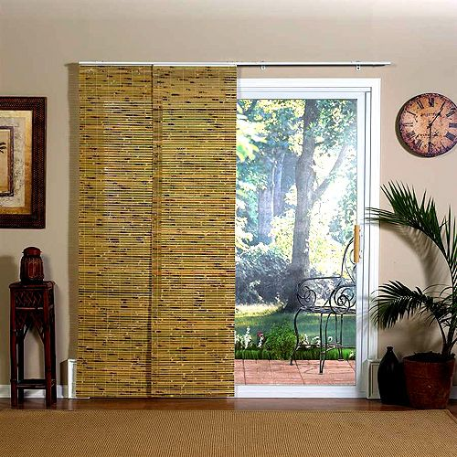 Indoor Doors Bamboo With Overhang Slides Sliding Door