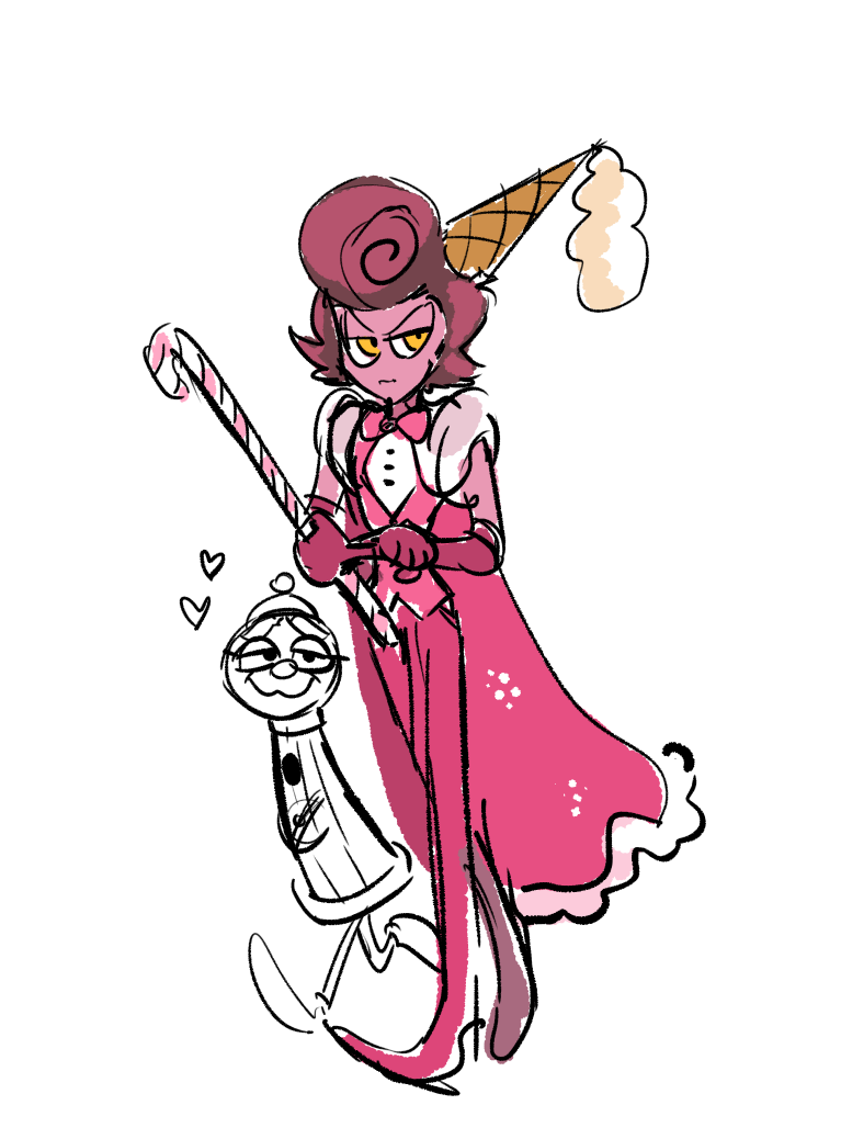maria Cuphead cosplay cala