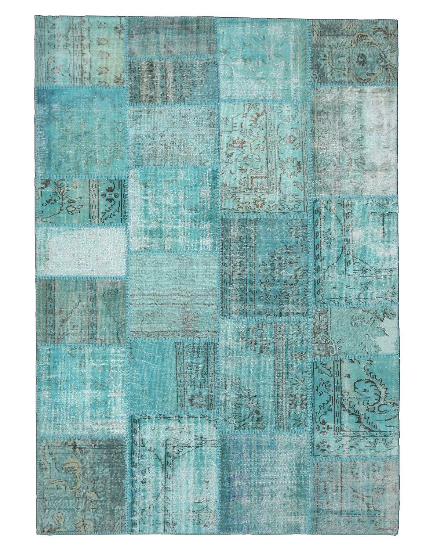 patchwork-tapijt-turquoise-licht.jpg (1191×1500) | woonkamer | Pinterest