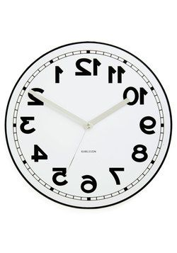 perfect for an office! Backwards to the Future Clock, #