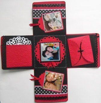 Caja regalo envoltura sorpresa novios amor amistad febrero for Regalo especial aniversario