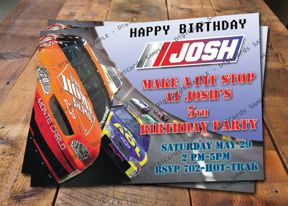 Nascar birthday invitation by digicards on etsy 900 digicards nascar birthday invitation by digicards on etsy 900 filmwisefo Choice Image