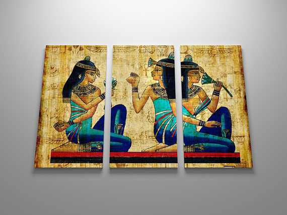 Art of ancient Egypt Painting Printed Canvas Wall Art Picture for ...